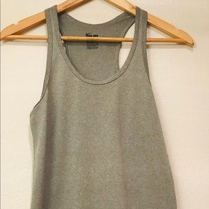 Nike Dry Tank Gray Racerback Size Small